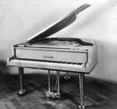 The Bluthner Piano And The Hindenburg Airship