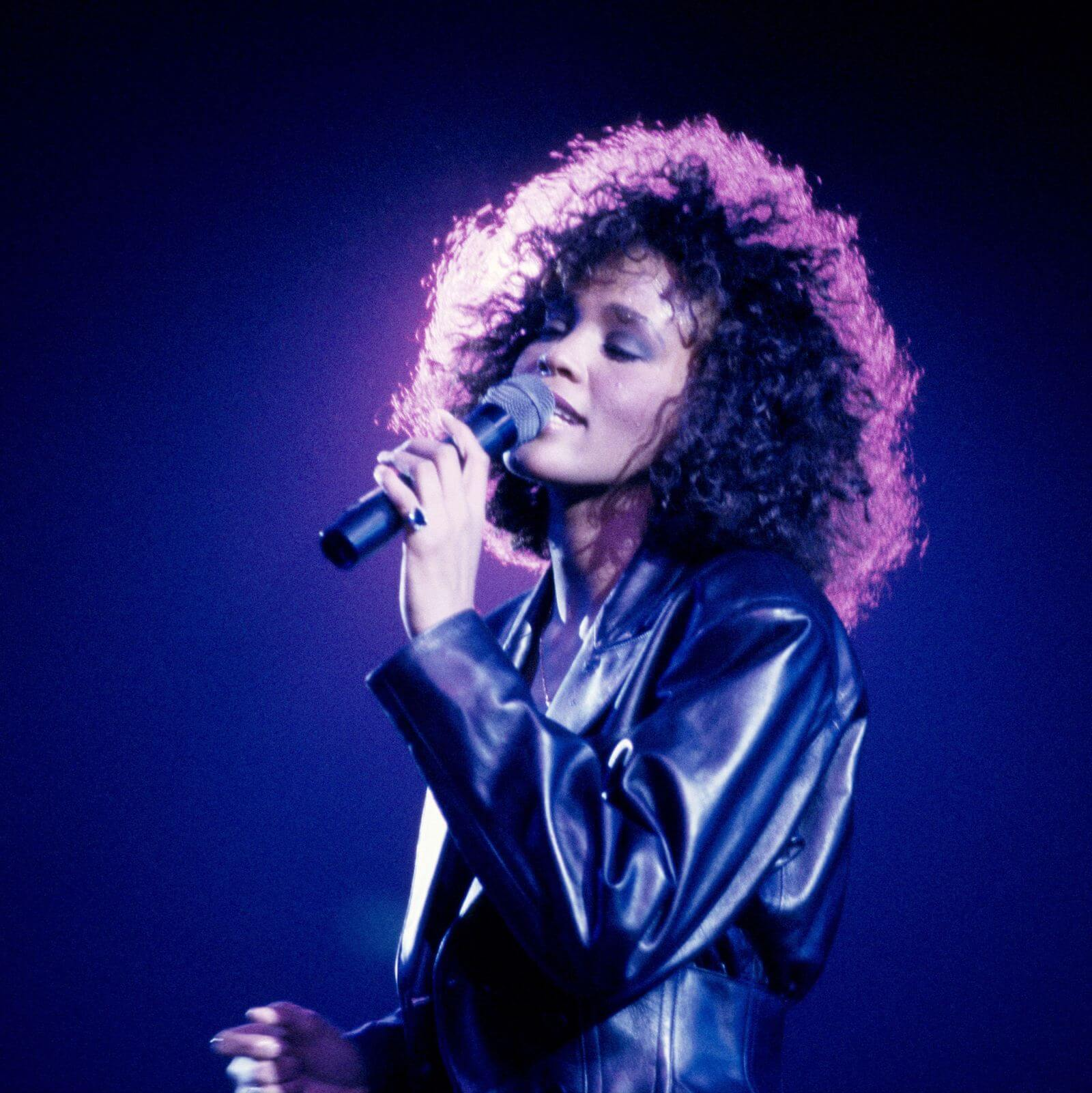 The Story Of Whitney Houston And Her See-Through Baby Grand Piano