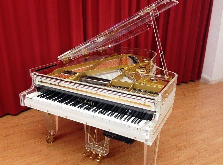 Whitney Houston And Her See Through Grand Piano Euro Pianos