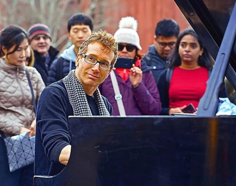 The Crazy Piano Man Of Washington Square