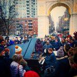 Piano concert at Washington Square