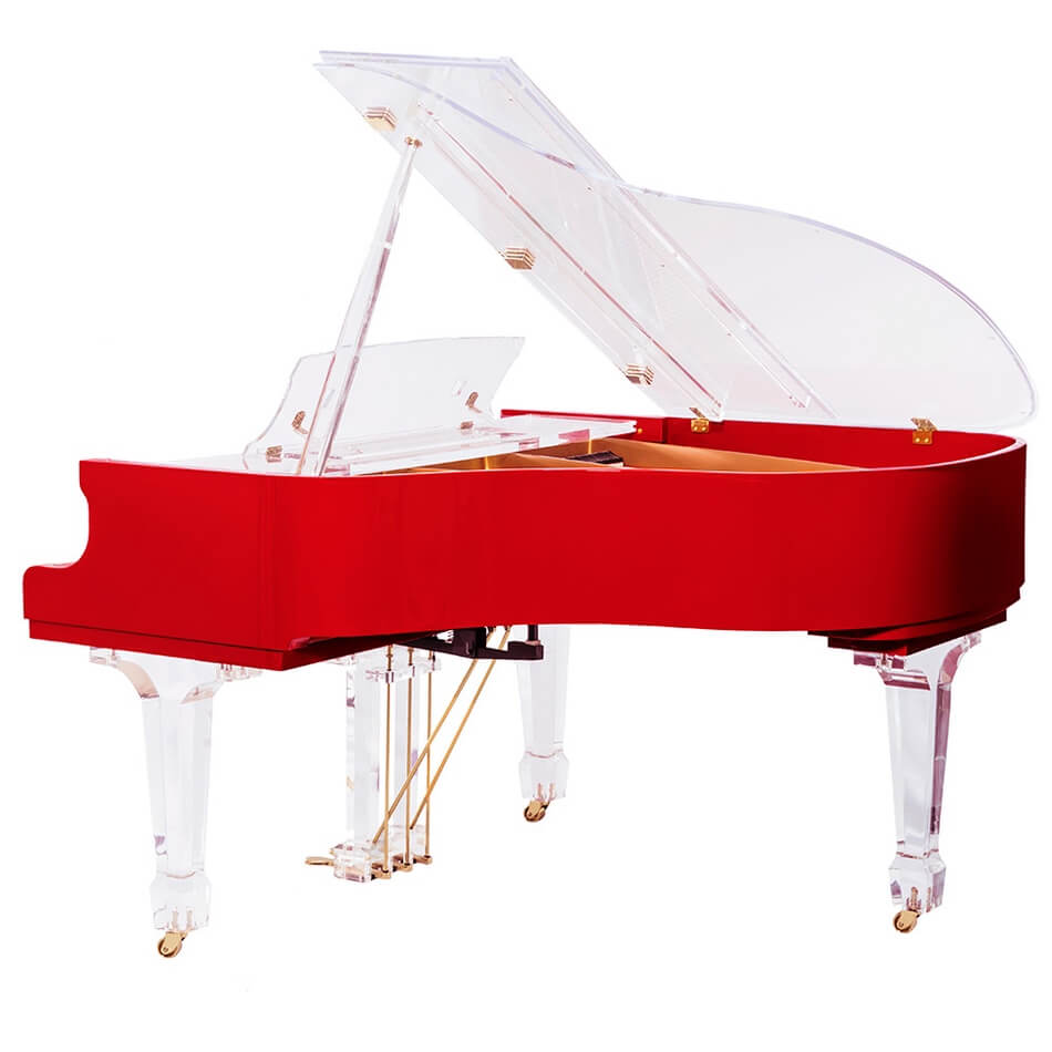 Aire™ Red Baby Grand Piano_2