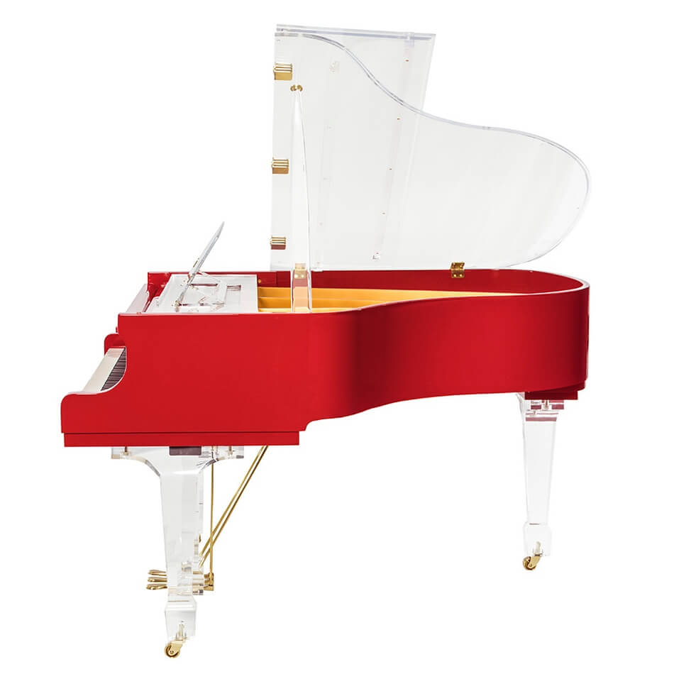 Aire™ Red Baby Grand Piano_6