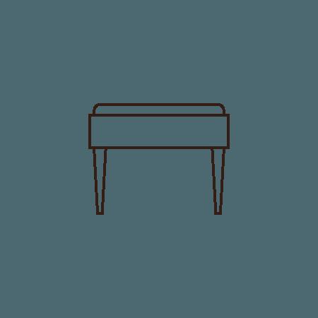 Piano Bench:
