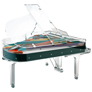 Lucid Elegance grand piano by Bluthner