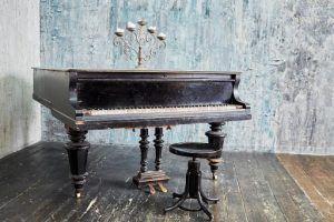 Used No-Brand 'Antique' baby grand