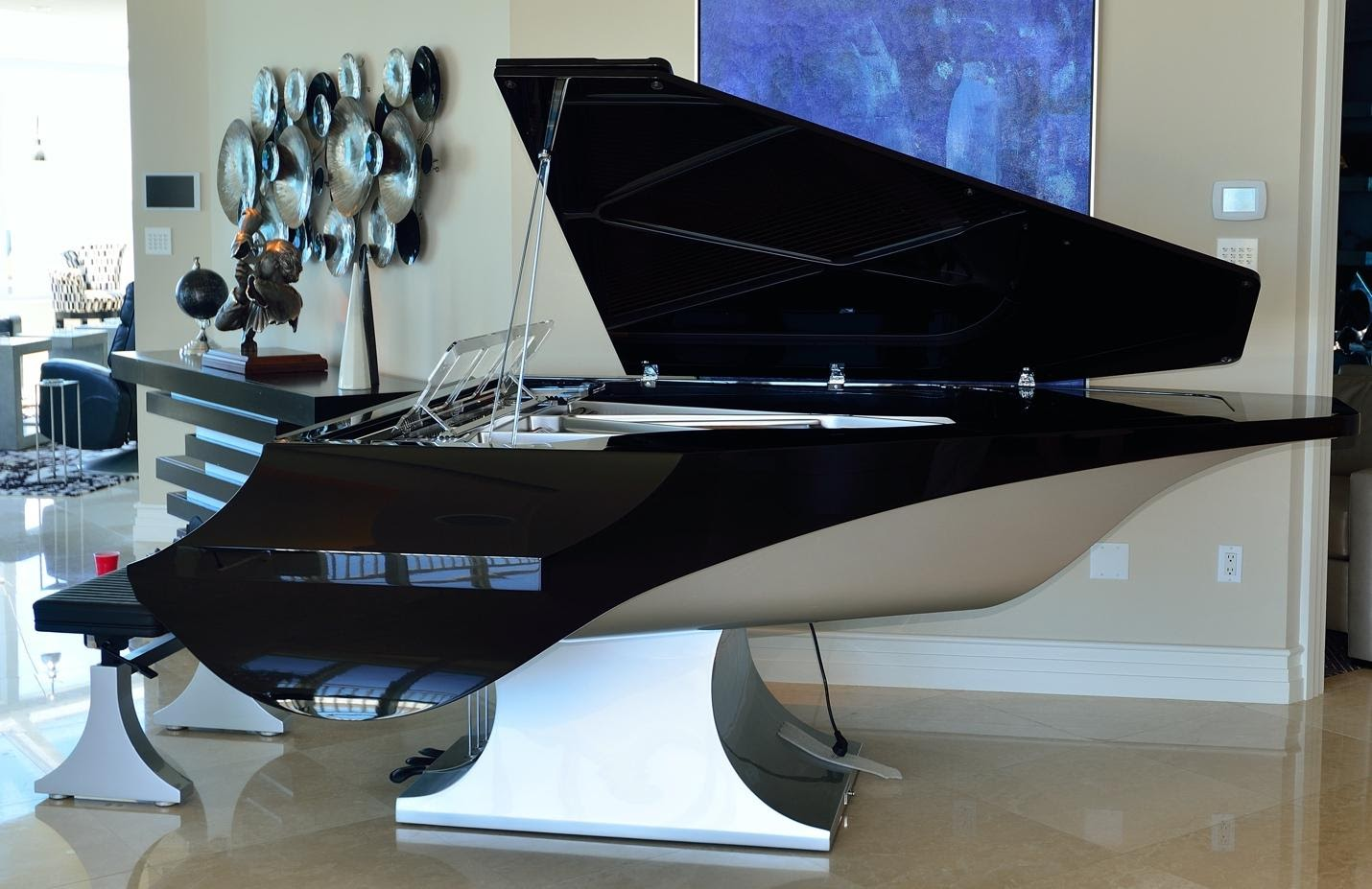 piano installation