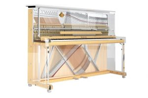 Lucid Transparent Upright Piano