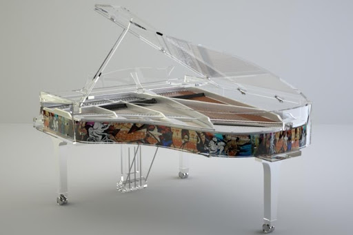 bluthner lucid grand piano
